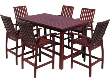 Outdoor dining new for brisbane jarrah timber for Outdoor furniture toowoomba
