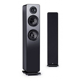 Roth Audio OLI RA3 5.25 inch 2 Way Pair Of Floor Standing Tower Speakers - Black
